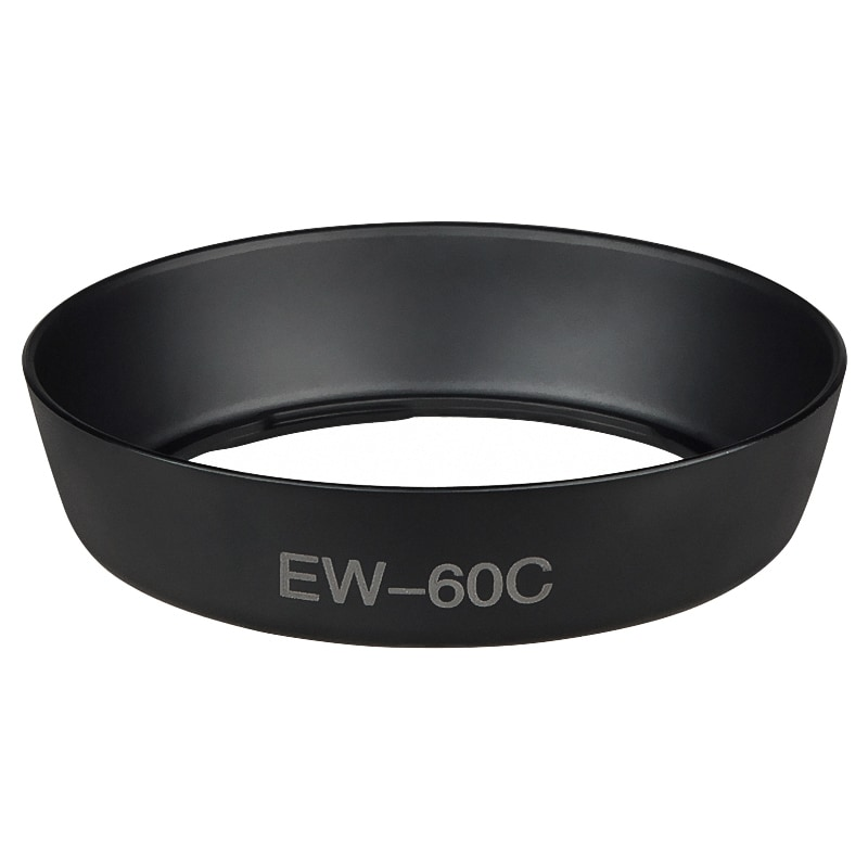 80-mm Round Lens Hood for Canon EW-60C