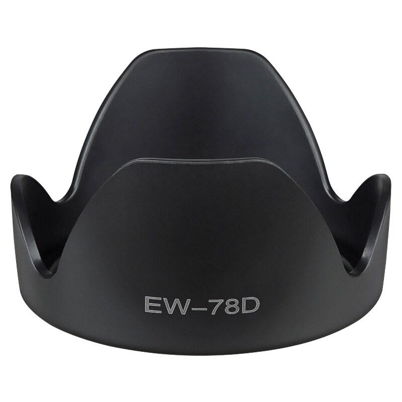 INSTEN 102-mm Crown Lens Hood for Canon EW-78D