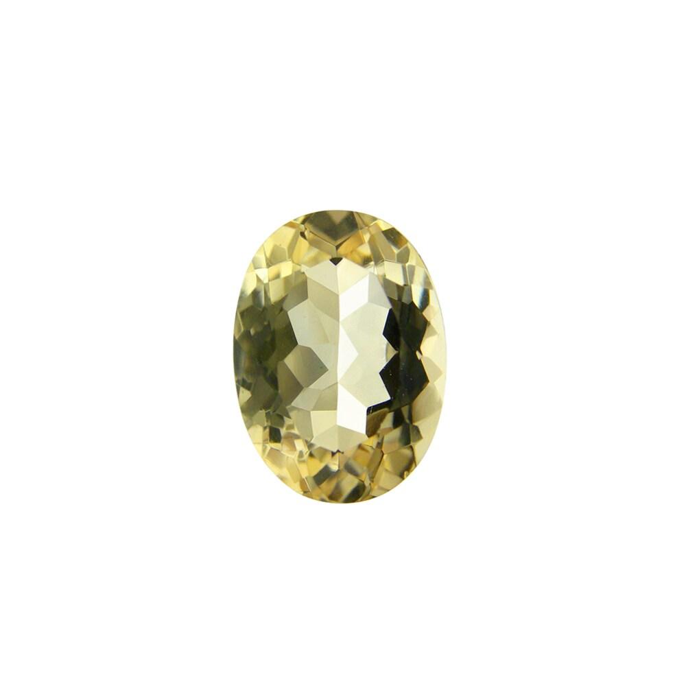 Glitzy Rocks Oval 14x10mm 5 2/5ct TGW Citrine Stone