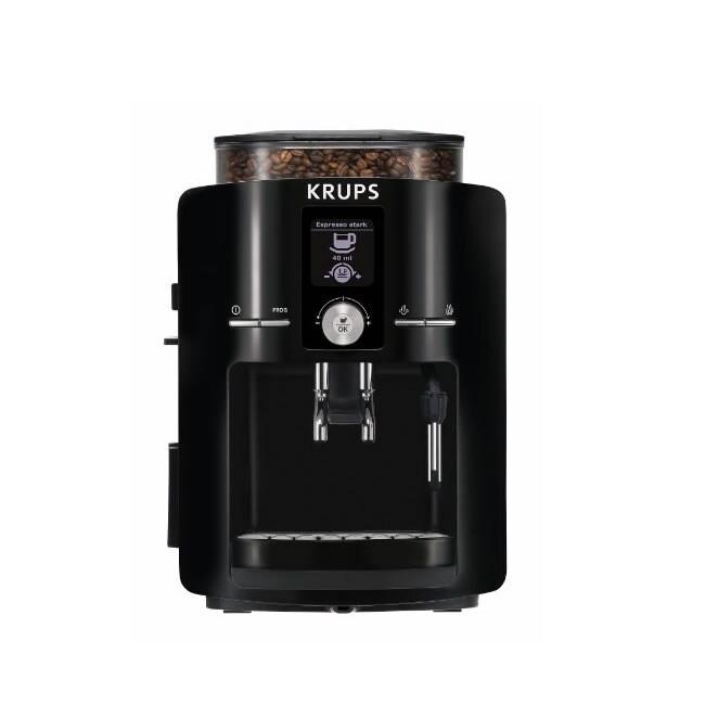 Krups EA8250001 Espresseria Full Automatic Black Espresso Machine