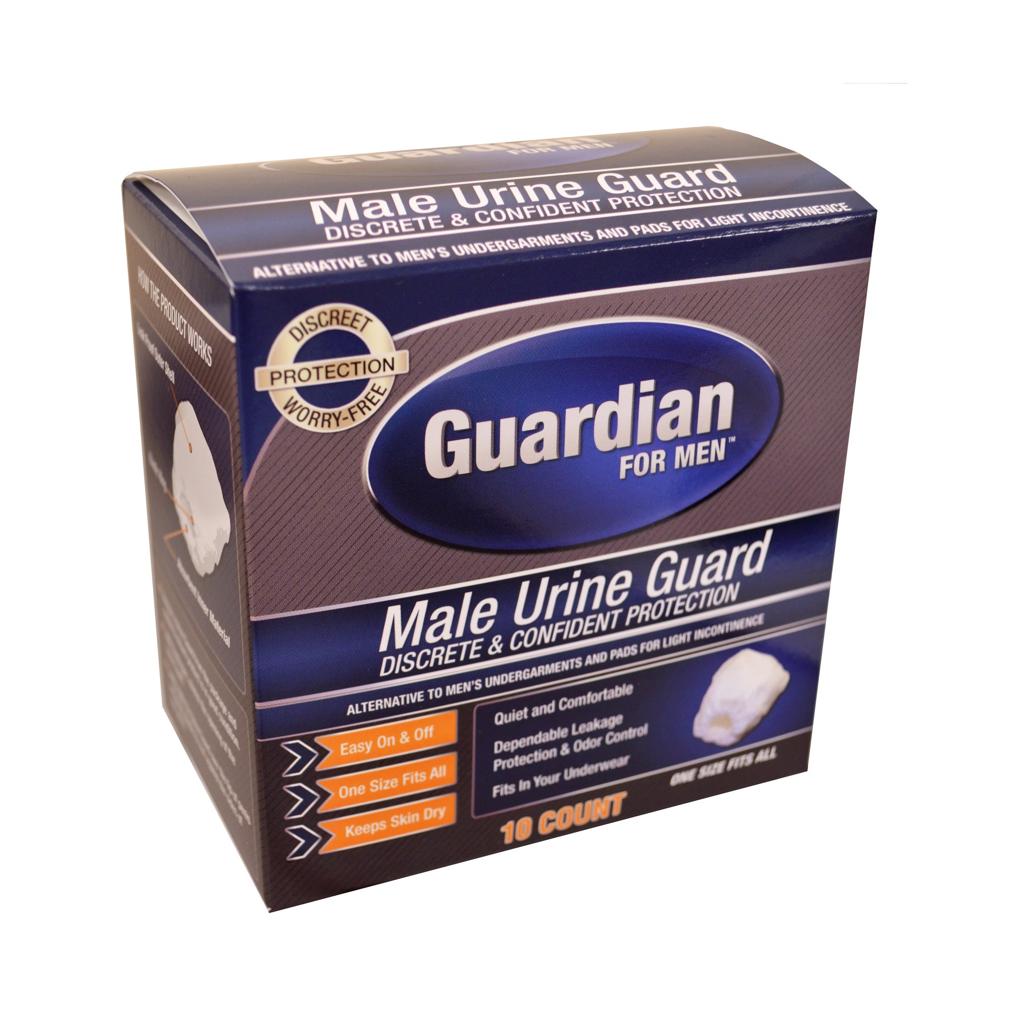 Quest Guardian Male Urine Guards (Pack of 10) (Male Urine...