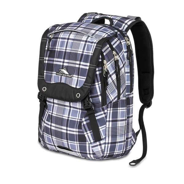 High Sierra Asphalt Mad for Plaid Laptop Backpack
