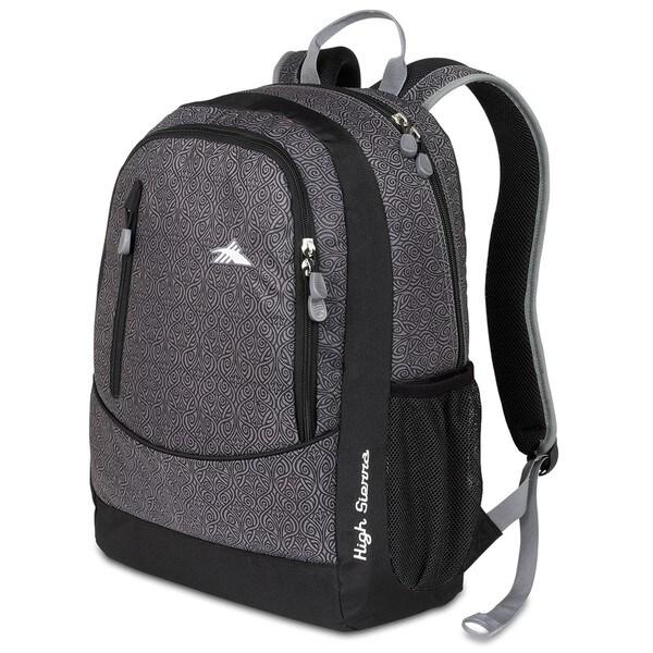 High Sierra Wilder Black Armor Laptop Backpack