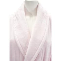 Leisureland Women's Luxury Cotton Terry Velour Robe - Thumbnail 1
