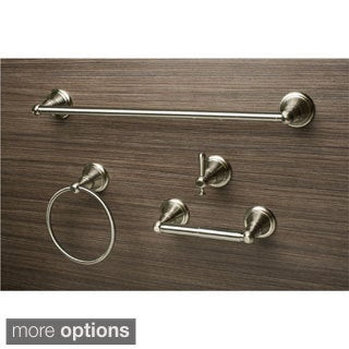 Sure-Loc Stockton 4-piece Bathroom Accessory Set (Satin Nickel)