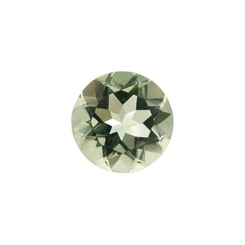 Glitzy Rocks Round Green 9mm 1.85ct TGW Amethyst Stone