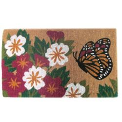 Butterfly Garden Door Mat