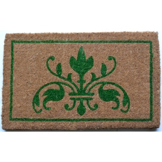 Natural Insignia Door Mat