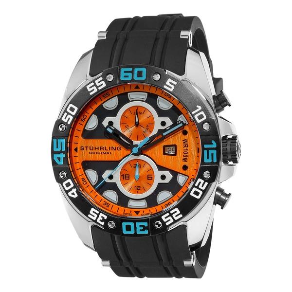 Stuhrling Original Men's Orbit Swiss Quartz Watch