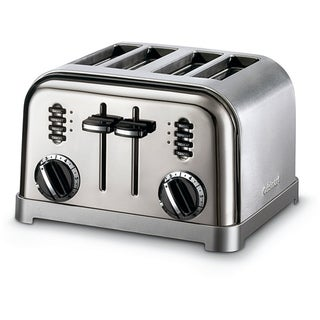 Cuisinart CPT-180BCH Black Chrome 4-slice Metal Classic Toaster