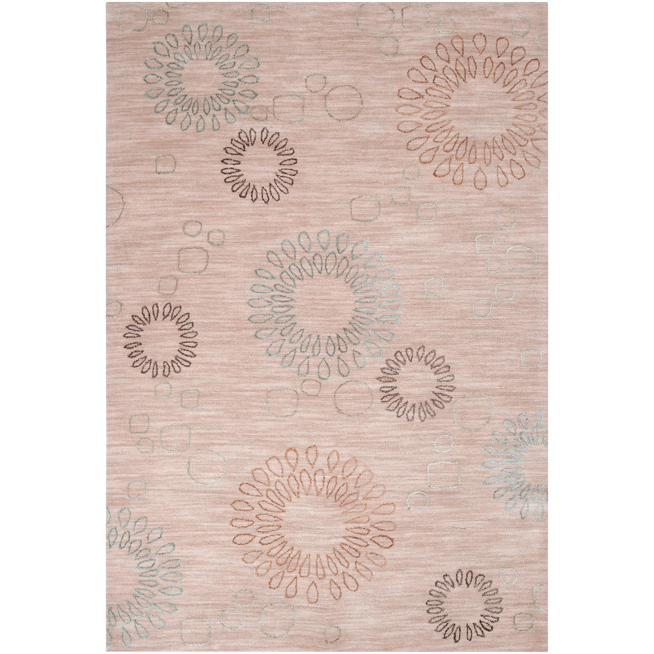 Shop Hand Tufted Ameila Polyester Rug 8 X 11 Free