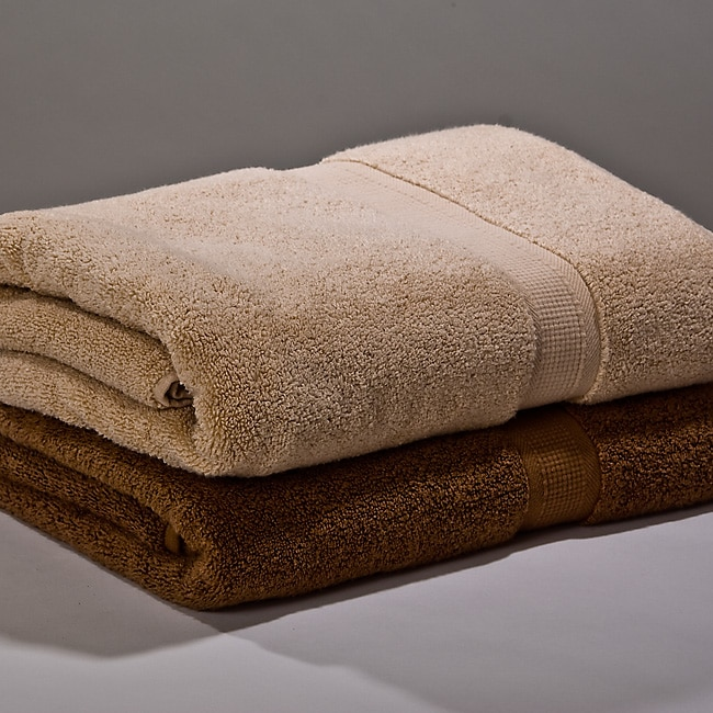 Calcot Supima Zero Twist 4-piece Towel Set