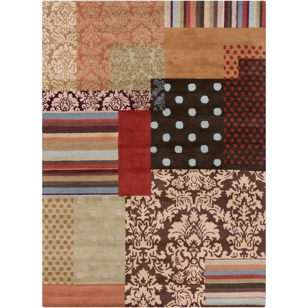Hand-tufted Legnano Wool Area Rug - 8' x 11'