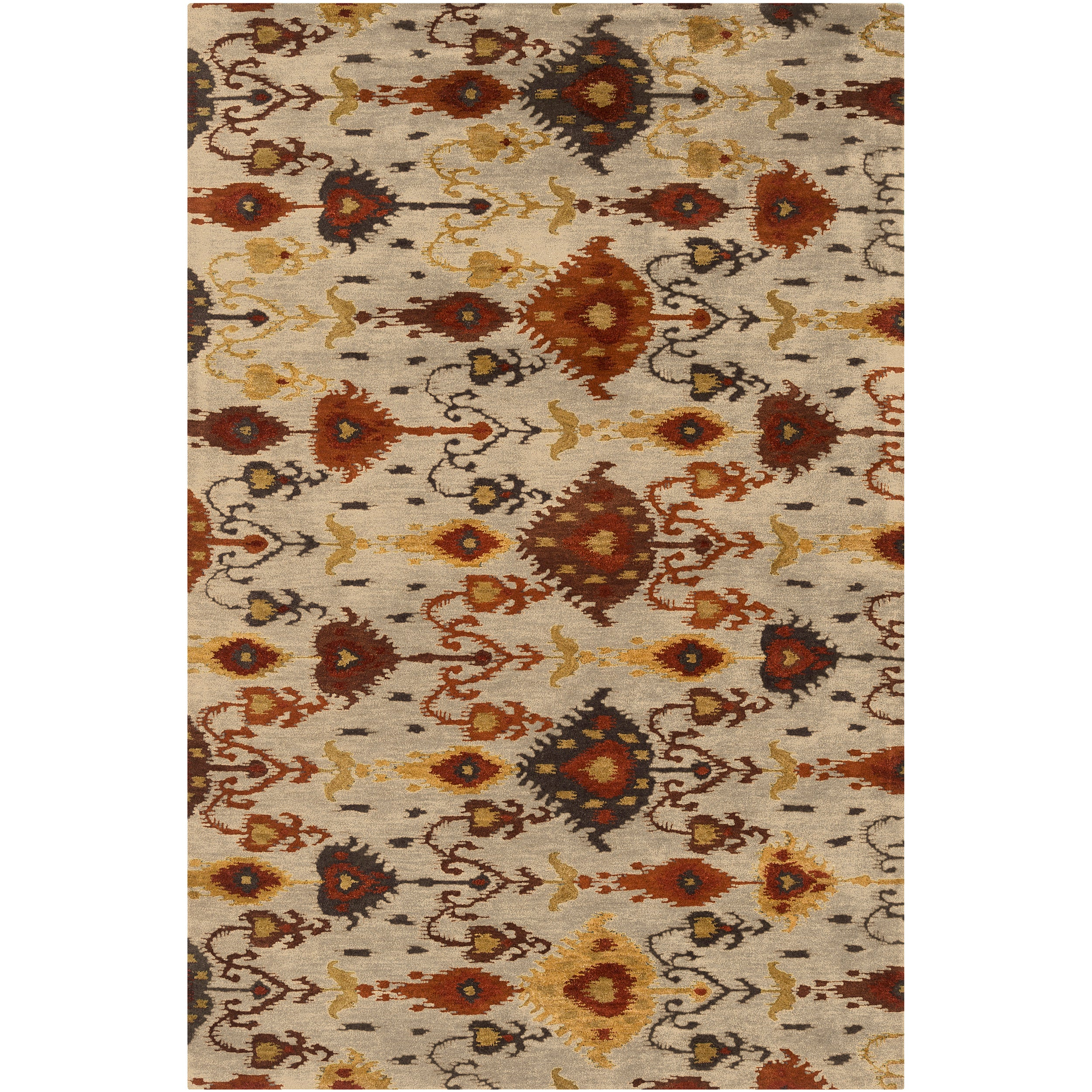 Shop Hand Tufted Suri Wool Rug 8 X 11 Free Shipping
