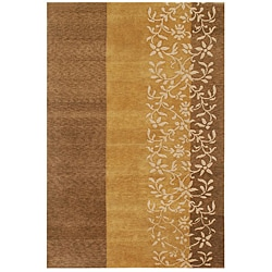 Hand-knotted Wool Rug(5'6 x 8'6)