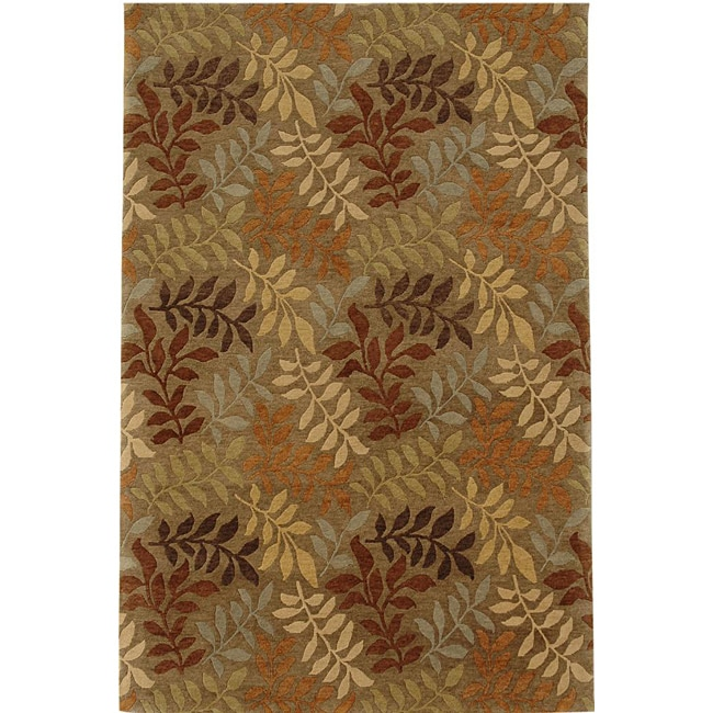 Hand-knotted Wool Rug (5'6 x 8'6)