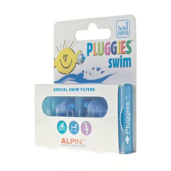 Alpine Pluggies Kids Swim Earplugs