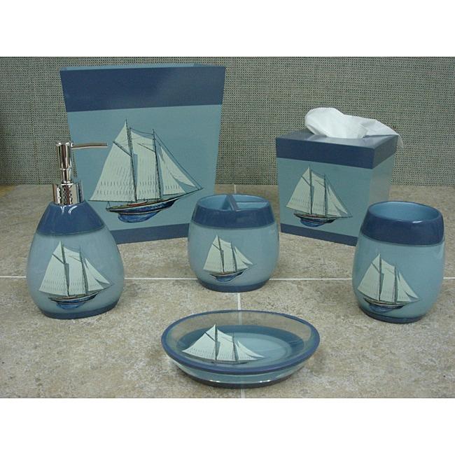 Sherry Kline 'Fair Harbor' Bath Accessory 6-piece Set