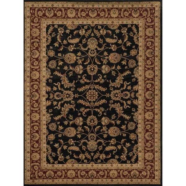 Dorchester Black/ Rust Rug (7'7' x 10'5')