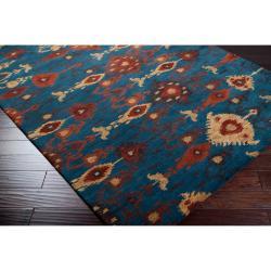 Hand-tufted Aviana Wool Rug (5' x 8') - Thumbnail 1