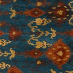 Hand-tufted Aviana Wool Rug (5' x 8') - Thumbnail 2