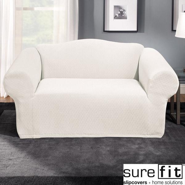 sure fit stretch stone sofa slipcover