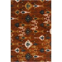 Hand-tufted Liron Wool Area Rug (5' x 8')