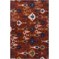 Hand-tufted Liron Wool Area Rug - 5' x 8'