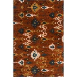 Hand-tufted Liron Wool Rug (8' x 11')