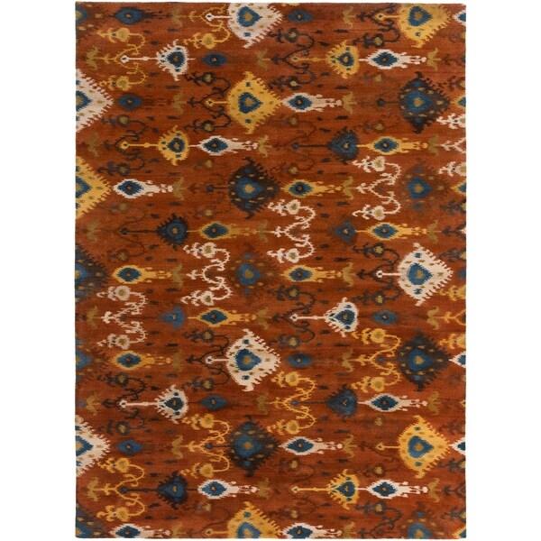 Hand-tufted Liron Wool Area Rug - 8' x 11'