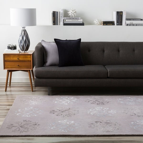Hand-tufted Jagger Wool Area Rug - 5' x 8'