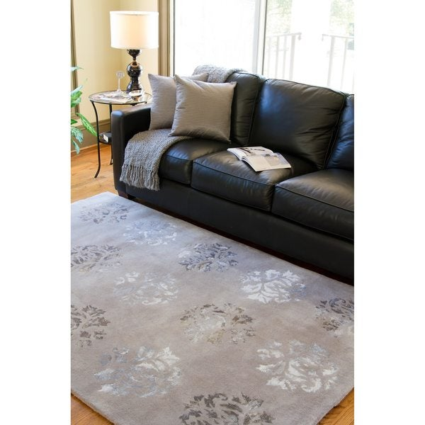Hand-tufted Jagger Wool Area Rug (5' x 8')