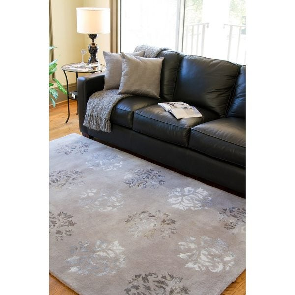 Hand-tufted Jagger Wool Rug (8' x 11')