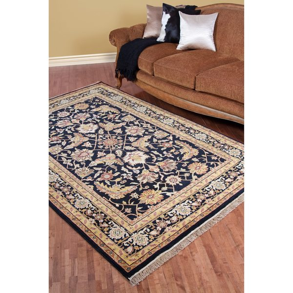 Hand-knotted Richmond Wool Area Rug (9'6 x 13'6)