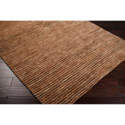 Hand-woven Trinidad Natural Fiber Hemp Rug (8' x 11')