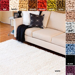 Hand-woven Armstrong Wool Area Rug - 2' x 3'