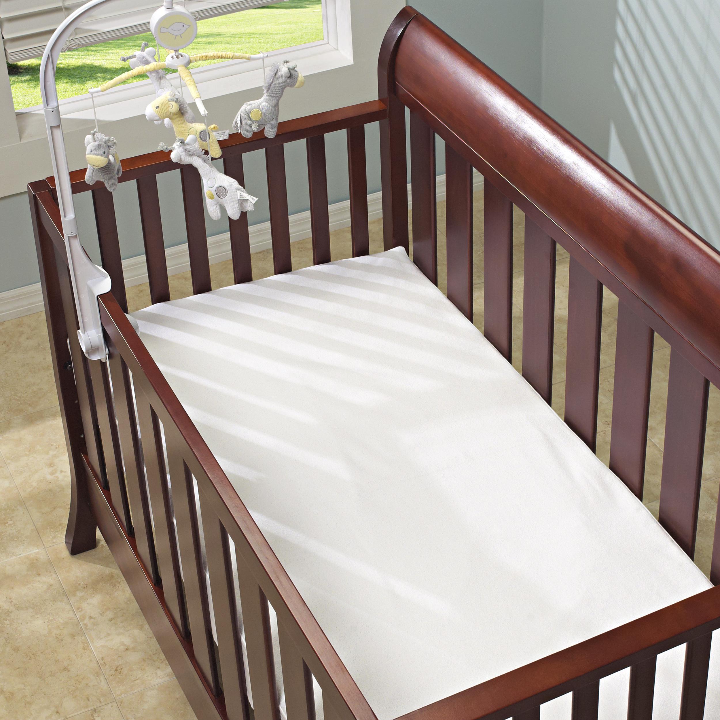 Famous Maker Waterproof Crib Size Mattress Pad Free