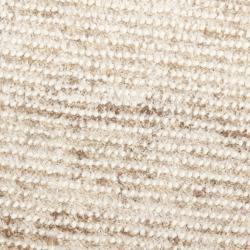 Safavieh Handmade Aspen Shag White/ Beige Wool Rug (7' Round) - Thumbnail 2