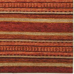 Safavieh Hand-knotted Selaro Stripes Wool Rug (8' x 10') - Thumbnail 2