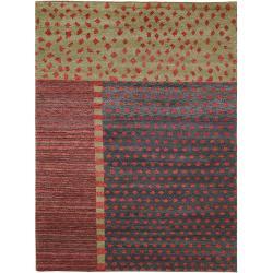 Safavieh Hand-knotted Selaro Tri Wool Rug (8' x 10')