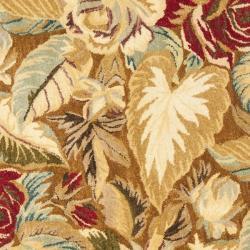 Safavieh Handmade Autumn Multi Hand-spun Wool Rug (4' Round) - Thumbnail 2