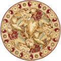 Safavieh Handmade Autumn Multi Hand-spun Wool Rug - 4' x 4' Round