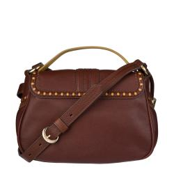 Bally Ellie Leather Messenger Bag
