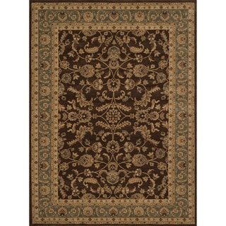 Dorchester Brown/ Blue Rug (9'8 x 12'8)