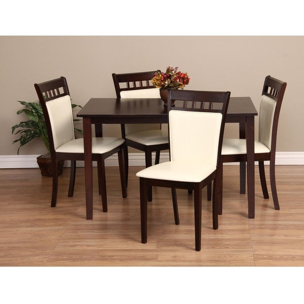 Shop Warehouse Of Tiffany Shirlyn 5-piece Dining Furniture