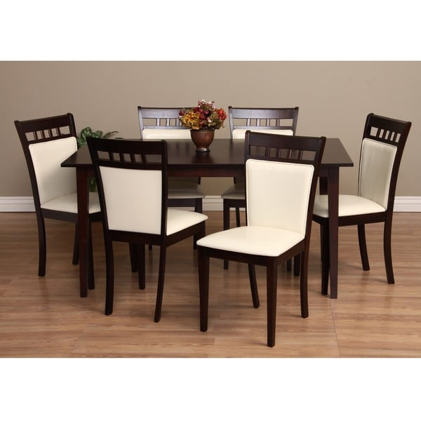 Warehouse of Tiffany Shirlyn 7 piece Dining Furniture Set Free Shipping Tod