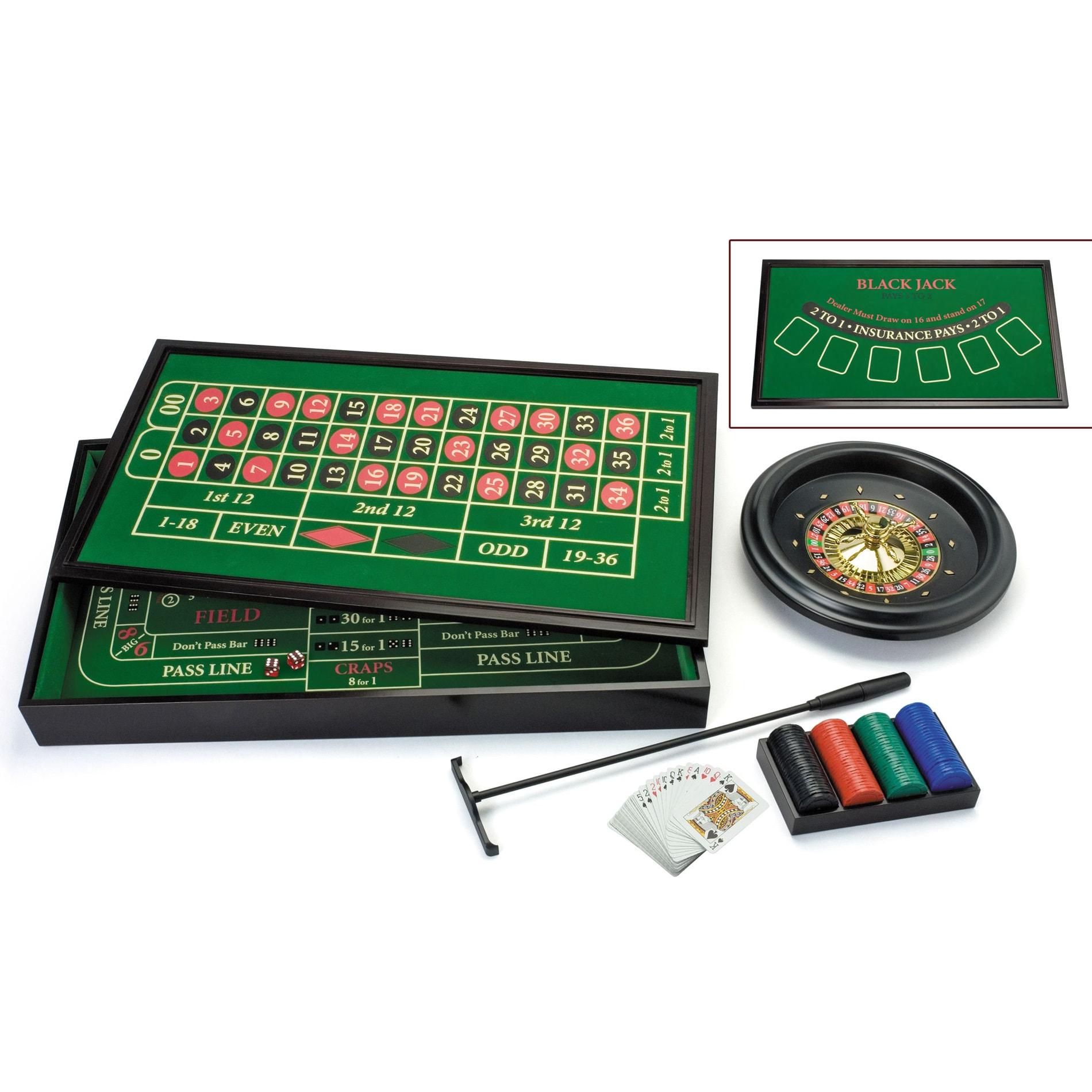 3 in 1 big casino game set