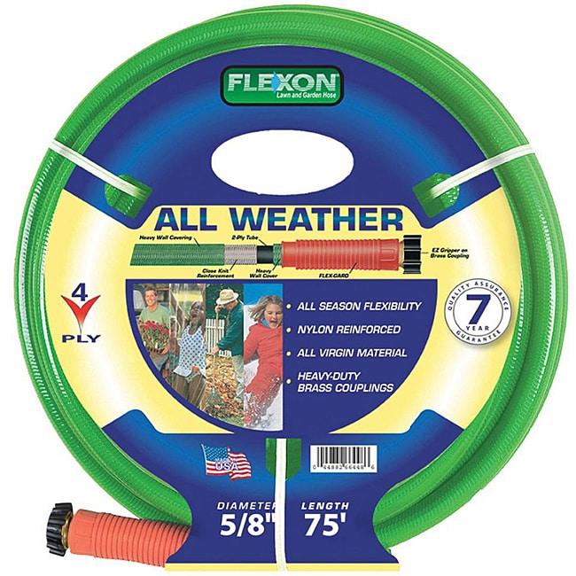 Flexon All Weather (0.625' x 75') Garden Hose