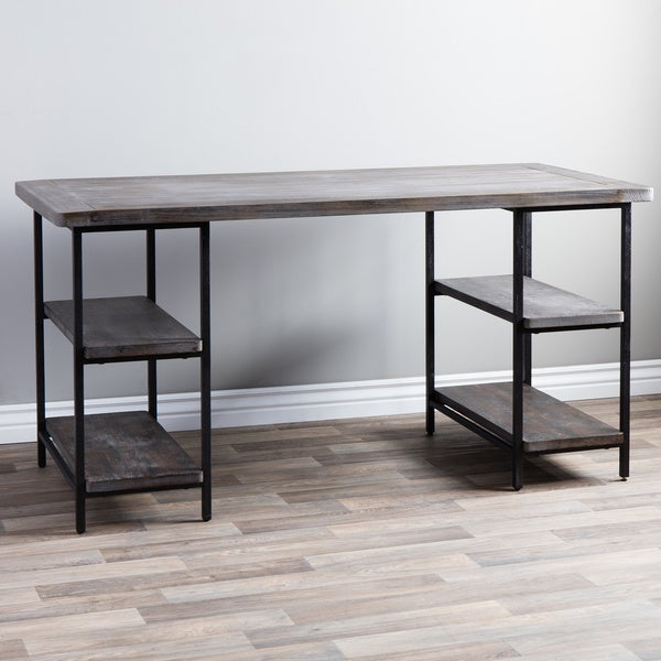 Renate Wood/ Metal Office Desk
