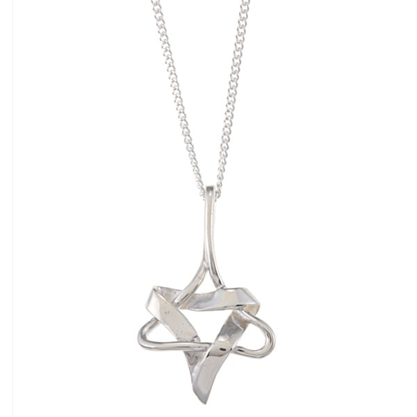 Sterling Silver 'Star of David' Necklace